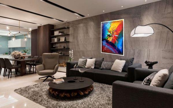 peinture abstraite oski