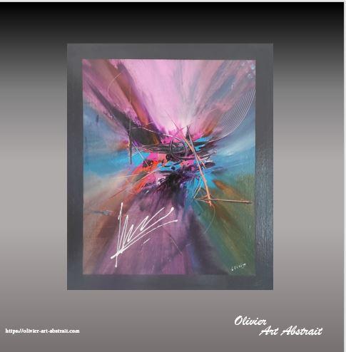 TONKA Olivier art abstrait vous présente des tableaux muraux abstrait pour votre décoration d'intérieur
