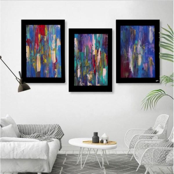 EKKEKO Olivier art abstrait vous présente des tableaux muraux abstrait pour votre décoration d'intérieur
