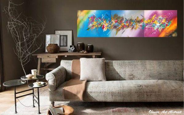 SEDNA Olivier art abstrait vous présente des tableaux muraux abstrait pour votre décoration d'intérieur