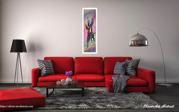 Hellé Olivier art abstrait vous présente des tableaux muraux abstrait pour votre décoration d'intérieur
