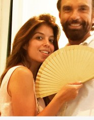 Solea Morente, Olivier Bernoux.Fans & Friends, Fans & Bags, Fans & Clutches, Fans & Fashion, Weapons of Seduction, Fans, Eventail, Abanico, Handfan, fancy, Elegant, Evening, Handmade.