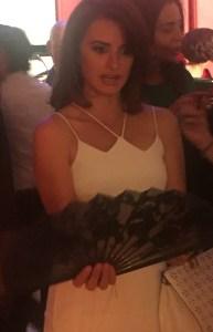 Penelope Cruz, Olivier Bernoux, Fans & Friends, Fans & Bags, Fans & Clutches, Fans & Fashion, Weapons of Seduction, Fans, Eventail, Abanico, Handfan, fancy, Elegant, Evening, Handmade.