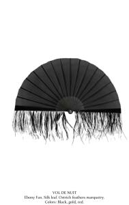 Olivier Bernoux, Fans & Friends, Fans & Bags, Fans & Clutches, Fans & Fashion, Weapons of Seduction, Fans, Eventail, Abanico, Handfan, fancy, Elegant, Evening, Handmade,