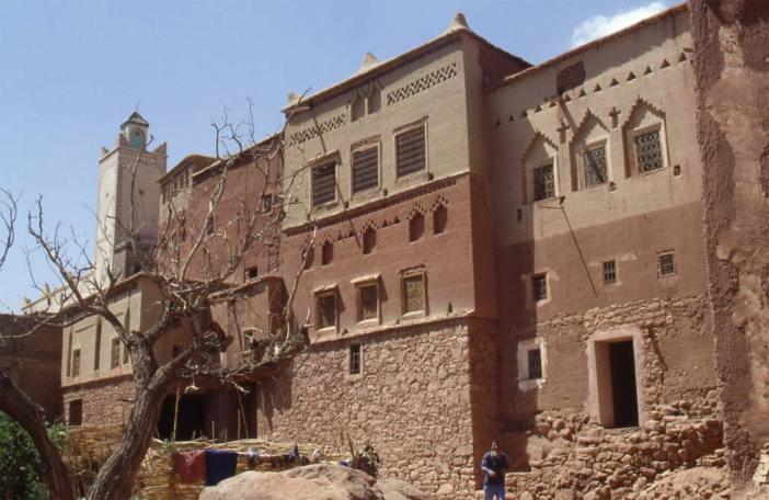 Le village d'Anmiter d'influence yéménite, le 31 juillet 1994