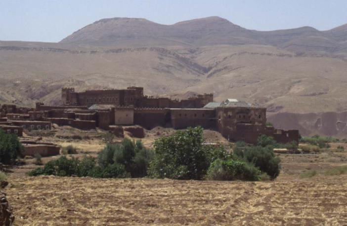 La kasbah de Télouèt, le 31 juillet 1994