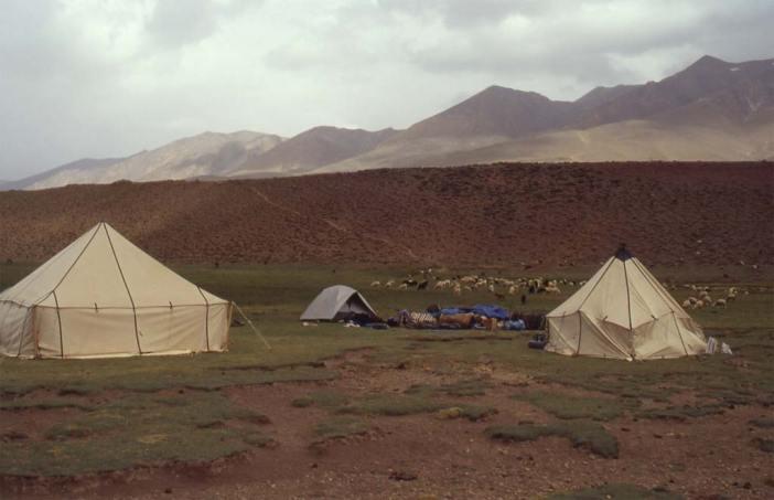 Camp aux sources de la Tessaout (5 août 1994)