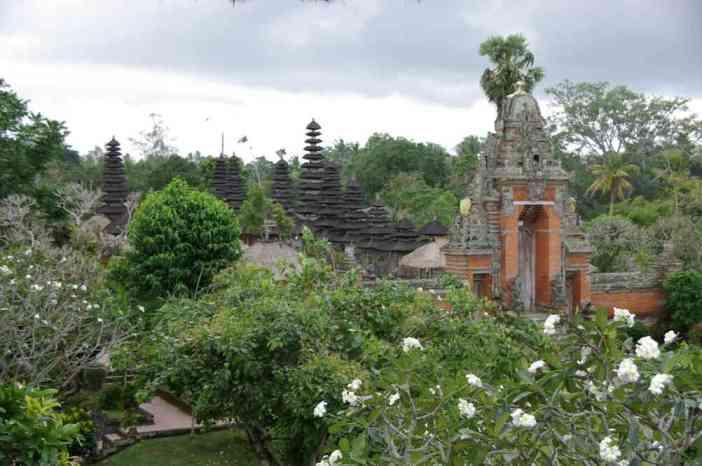 Vue générale du temple de Taman Ayun, le 5 juillet 2007