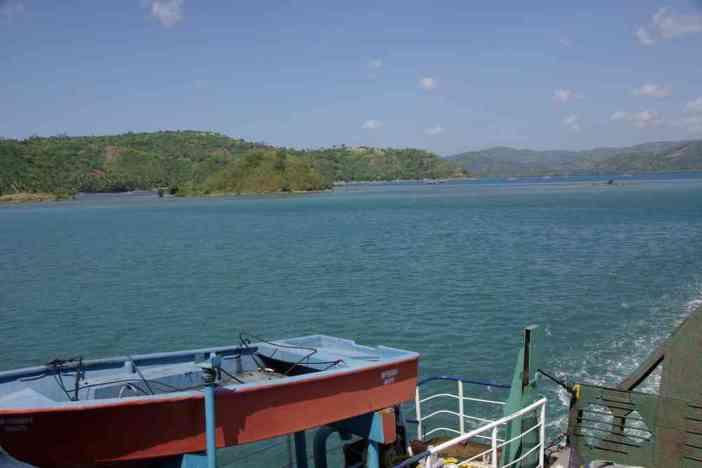 Arrivée dans l'île de Lombok, le 10 juillet 2007