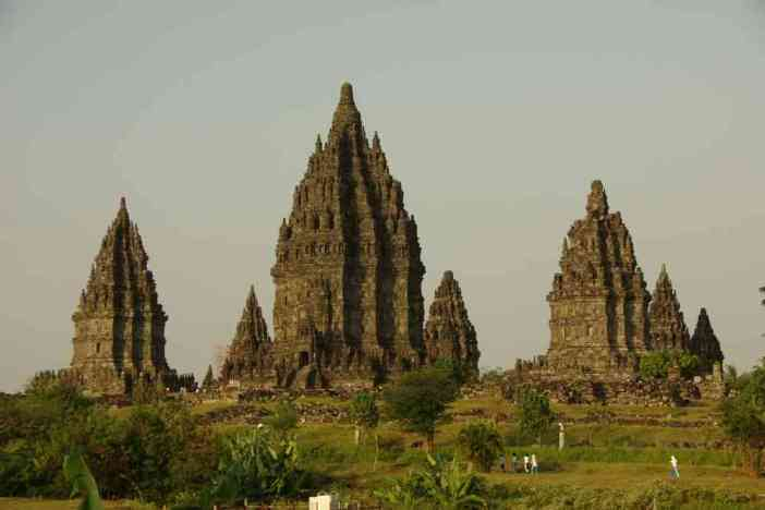 Les temples de Prambanan, le 21 juillet 2007
