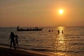 Sunset on Rabbit Island