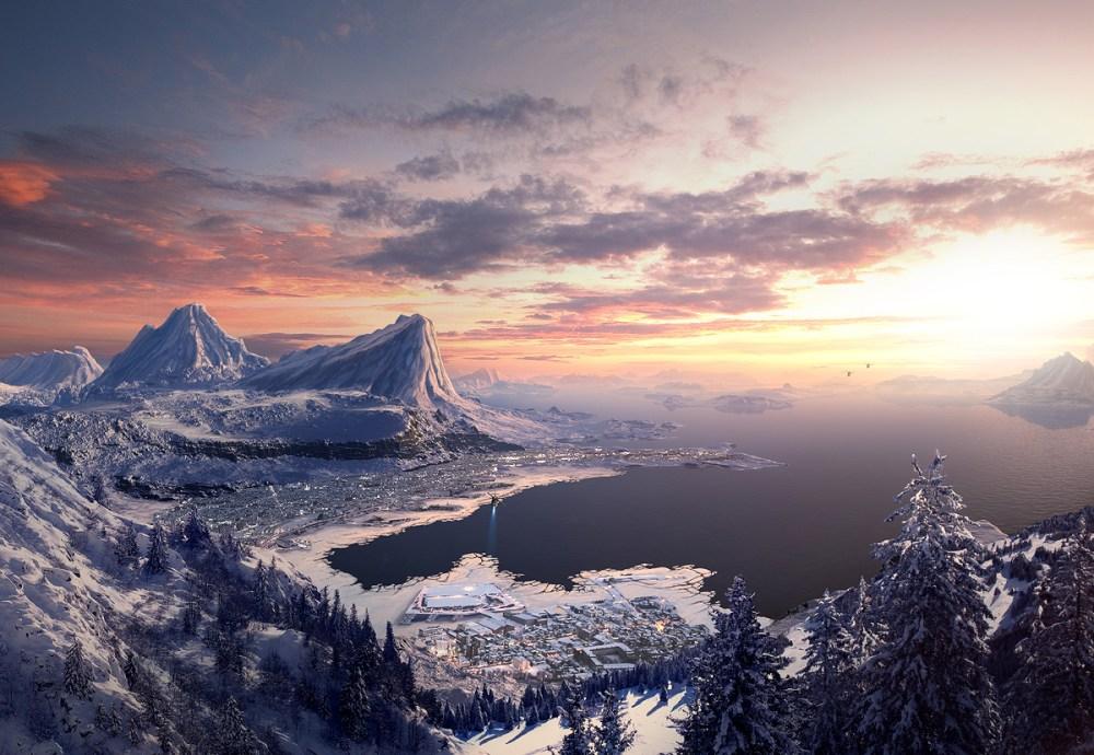 Tutoriel matte painting montagne