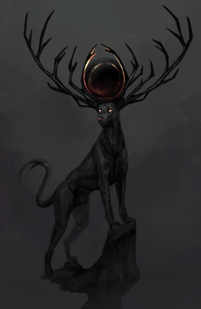 Jade Mere black dog