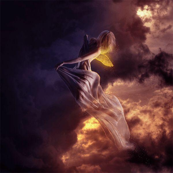 photomontage angelique