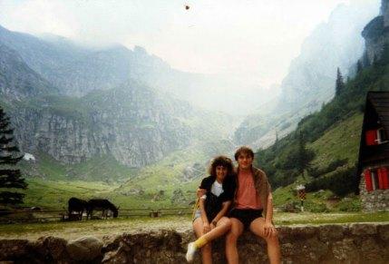 1991 Premières vacances ensemble Roumanie