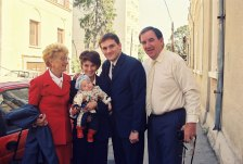 2001.10 Bucarest bapteme Marc