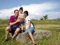 2004.07 premier grand voyage de Marc tour de la Roumanie