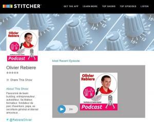 Stitcher-podcast sur OlivierRebiere.com