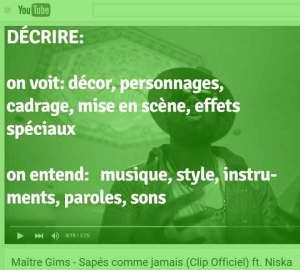 Maitre Gims - Histoire des Arts - OlivierRebiere.com