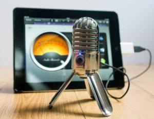 enregistrer sa voix facilement - Samson Meteor mic + iPad - OlivierRebiere.com