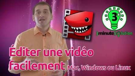 Éditer une vidéo facilement – Mac, Windows ou Linux