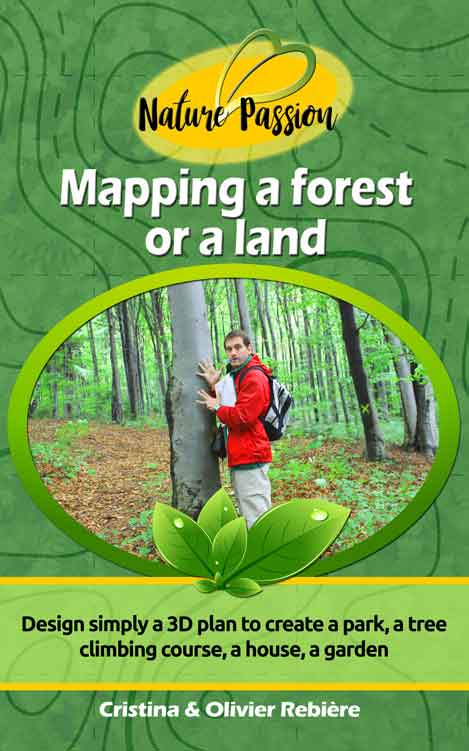 Mapping a forest or a land - Olivier Rebiere & Cristina Rebiere - OlivierRebiere.com