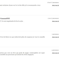 Cathy Merlin - meilleurs commentaires