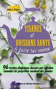 Tisanes et boissons santé à faire soi-même - Nature Passion - Cristina Rebiere & Olivier Rebiere
