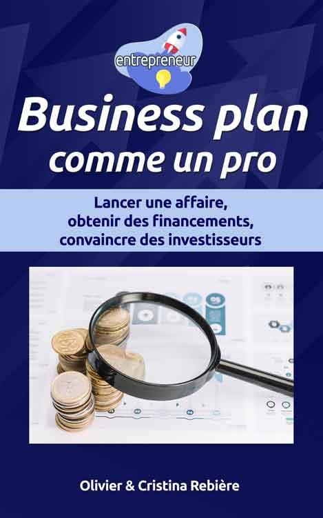 Business plan comme un pro - entrepreneur - Olivier Rebiere & Cristina Rebiere
