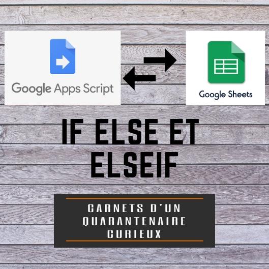 Google App Script : If else et else if