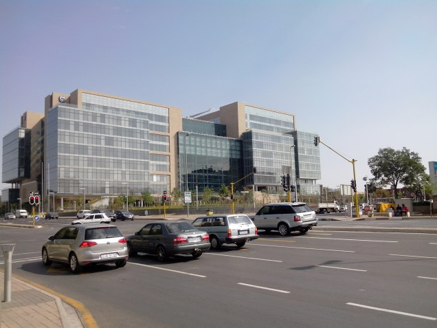 New standard bank office, next to home. Amazing building