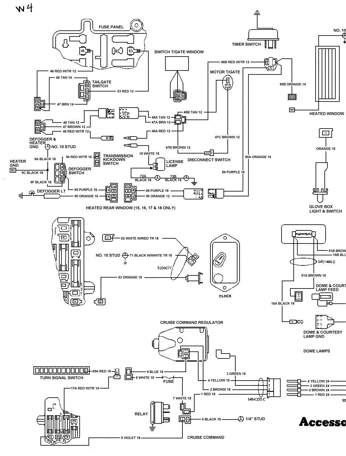 1984 Jeep Wiring Diagram Archive Of Automotive Cj7 Brake Light Scrambler Viewmotorjdi Org Rh Grand Wagoneer Cj