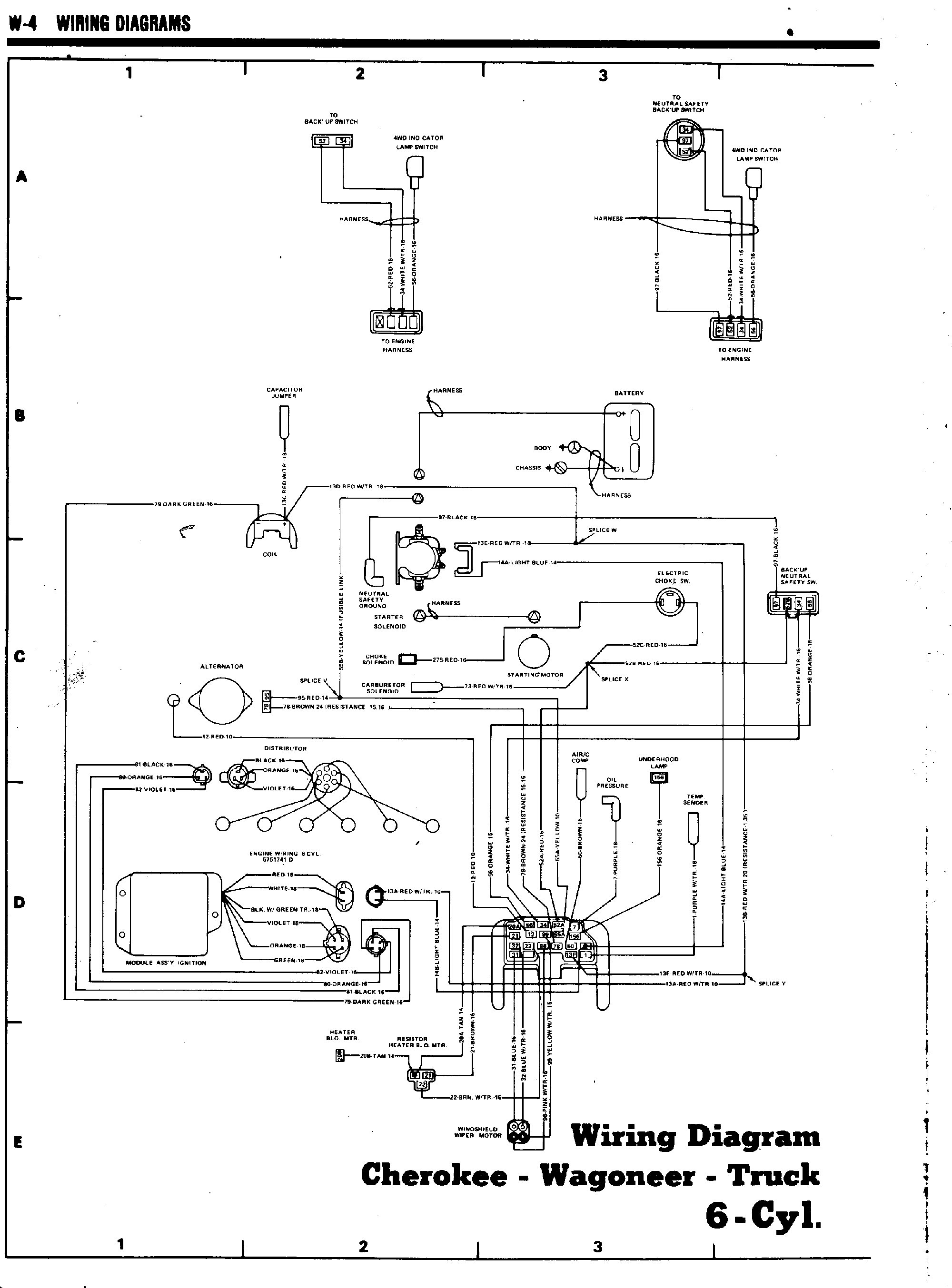 Wrg Jeep Grand Wagoneer Wiring Diagram