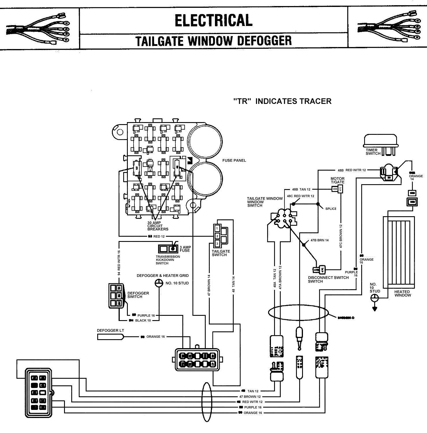 Jeep Led Tail Light Wiring Diagram