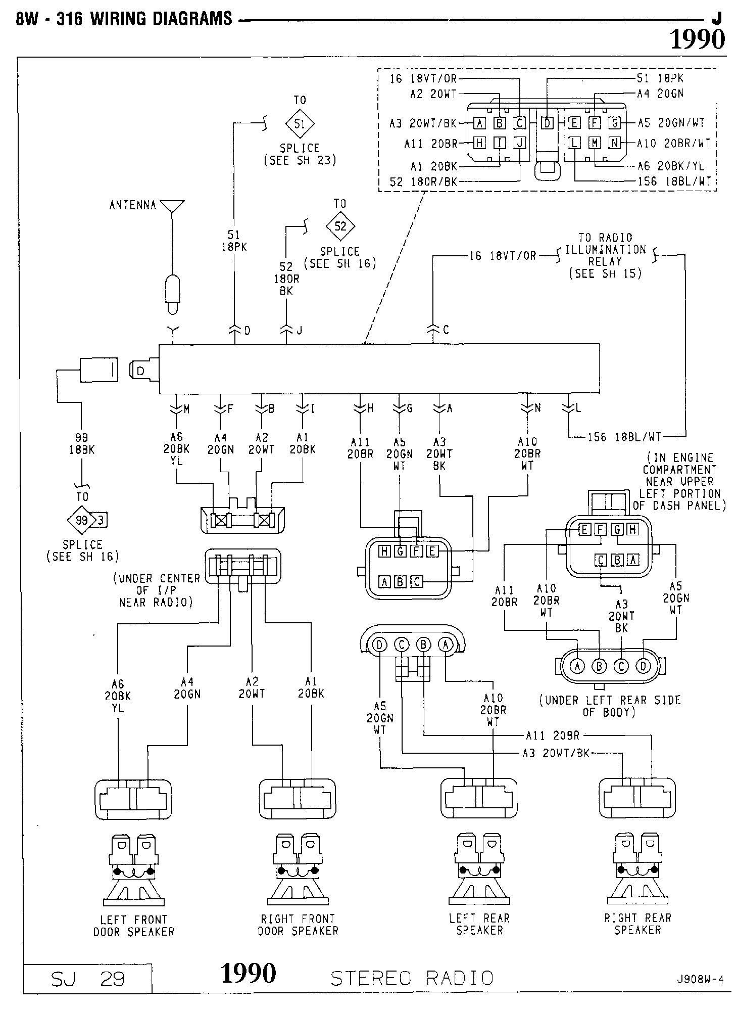 Jeep cherokee wiring diagrams images diagram and writign diagram radio wiring diagram jeep cherokee 1990 radio download wirning 1990 jeep cherokee radio wiring diagram wiring pooptronica Choice Image