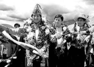 Evo Morales, Presidente del Estado Plurinacional de Bolivia