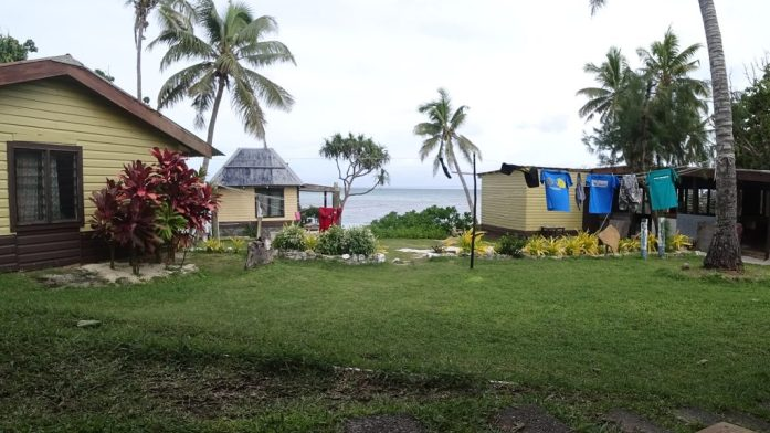 Fiji view from guesthouse