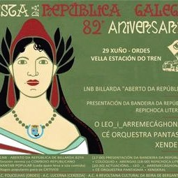 82 Aniversario da República Galega