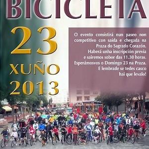 Esta idea gústanos que se repita: día da bicicleta
