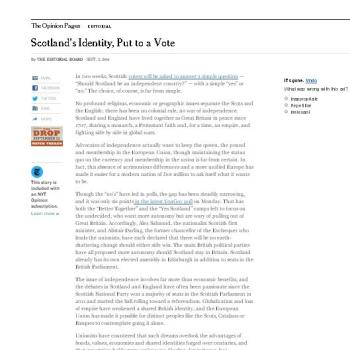 Editorial do New York Times