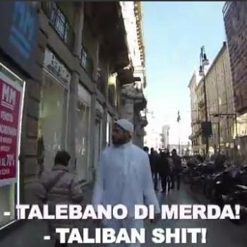 Fan un vídeo para denunciar que non se pode ruar por Milan se es un imam