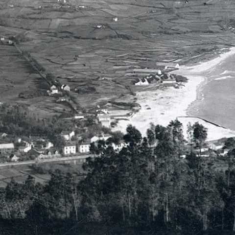 Areal da Madalena a comezos do s.XX