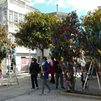 Festa dos Maios na vila vella de Cedeira
