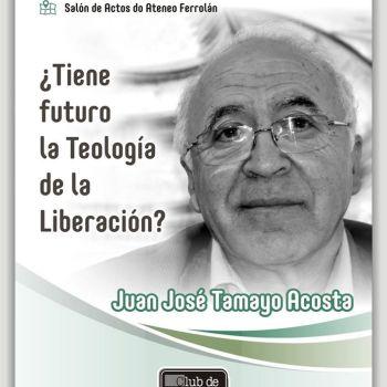Conferencia do teólogo Juan José Tamayo no Ateneo Ferrolán