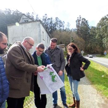 O proxecto de mellora da estrada de Ferrol atinxe actuacións sobre determinados treitos