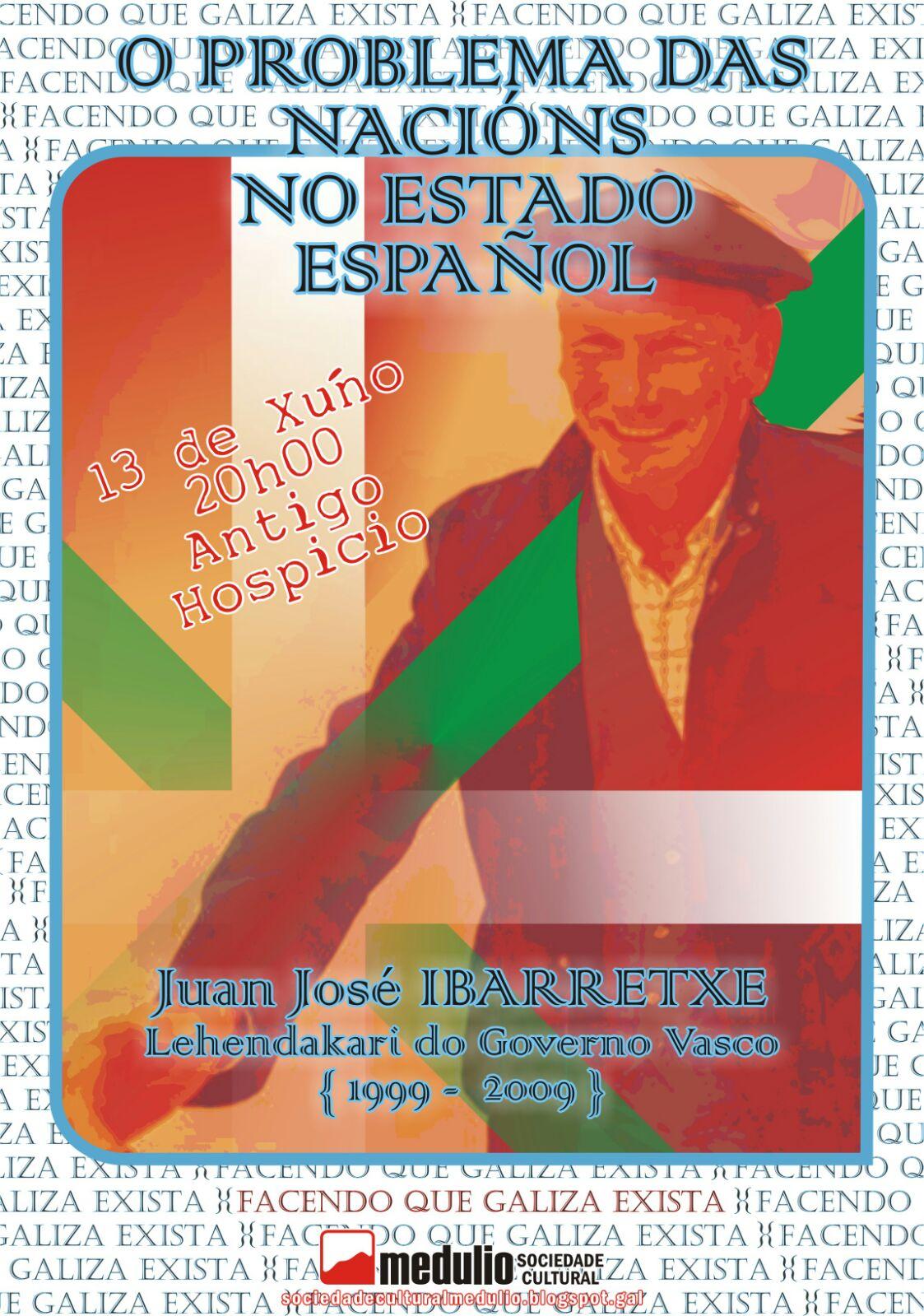 O problema das nacións no Estado español segundo Ibarretxe