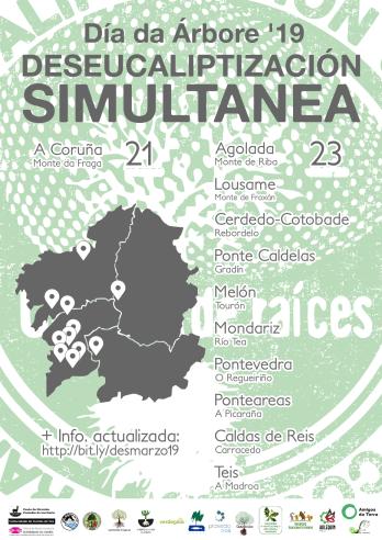 Deseucaliptización simultánea de Galicia o 23 de marzo