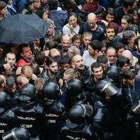 """A Audiencia de Barcelona insiste na existencia de """"violencia excesiva"""" nas acusacións de 1-O"""