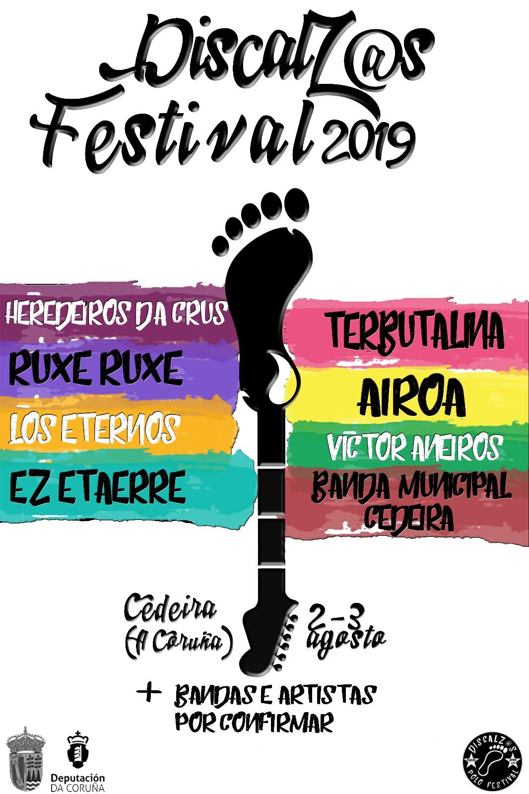 Discalz@s Festival 2019, música coa ollada no país