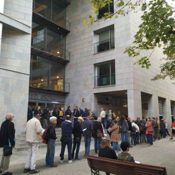 Filas perante os tribunais catalás para rexistrar auto-incriminación polo 1-O
